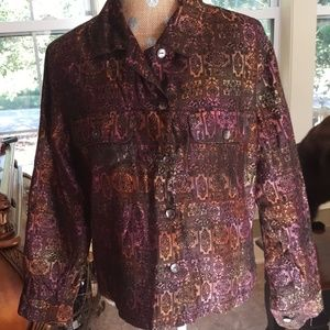 Chicos Design fall blouse